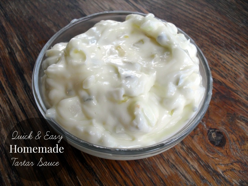 homemadetartarsauce